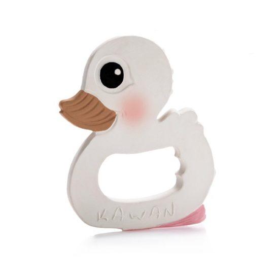 Beißring-Ente als Geschenk für Babys an Weihnachten