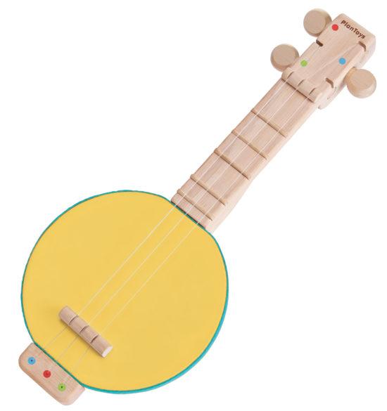 Idee für Weihnachten: Banjolele für Kinder aus Holz